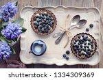 top view on wholegrain... | Shutterstock . vector #1334309369