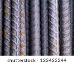 steel bars for construction. | Shutterstock . vector #133432244
