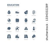 simple set of icons such as... | Shutterstock .eps vector #1334332289