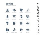 simple set of icons such as...   Shutterstock .eps vector #1334380613