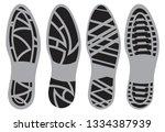 shoe sole design men's shoes... | Shutterstock .eps vector #1334387939