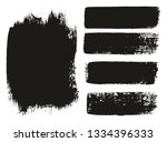 paint brush medium background   ... | Shutterstock .eps vector #1334396333
