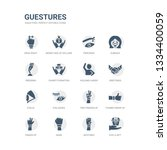 simple set of icons such as... | Shutterstock .eps vector #1334400059