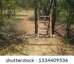 Old Climbover Steel Stile In A...