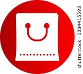 bag vector icon  | Shutterstock .eps vector #1334415593