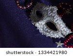 a festive beautiful white mardi ... | Shutterstock . vector #1334421980