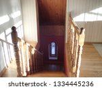 Wooden Staircase And Arched...