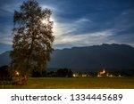 Night In Austria In The...