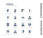 simple set of icons such as... | Shutterstock .eps vector #1334450606