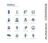 simple set of icons such as... | Shutterstock .eps vector #1334450636