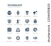 simple set of icons such as... | Shutterstock .eps vector #1334450810