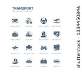 simple set of icons such as...   Shutterstock .eps vector #1334450846