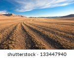 The Road In The Desert. Central ...