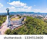 view of geller hill in sunny...   Shutterstock . vector #1334513600