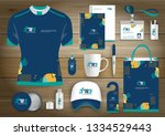 gift items business corporate... | Shutterstock .eps vector #1334529443