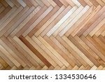 wooden flooring in fishback... | Shutterstock . vector #1334530646