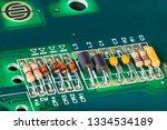 inductors  capacitors ... | Shutterstock . vector #1334534189