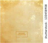 vector grunge textured paper | Shutterstock .eps vector #133458908
