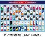 mega collection of modern... | Shutterstock .eps vector #1334638253