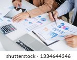 investment and cooperate... | Shutterstock . vector #1334644346