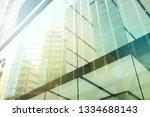 exterior of glass residential... | Shutterstock . vector #1334688143
