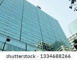 exterior of glass residential... | Shutterstock . vector #1334688266