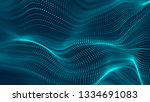 abstract futuristic background. ... | Shutterstock . vector #1334691083