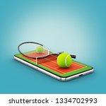 unusual 3d illustration of a...   Shutterstock . vector #1334702993