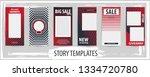 trendy editable template for... | Shutterstock .eps vector #1334720780