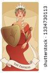 major arcana tarot cards. the... | Shutterstock .eps vector #1334730113