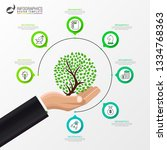infographic design template....   Shutterstock .eps vector #1334768363