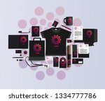 corporate identity of the... | Shutterstock .eps vector #1334777786