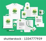 corporate identity of the... | Shutterstock .eps vector #1334777939