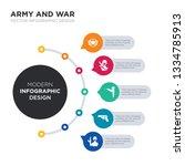 modern business infographic...   Shutterstock .eps vector #1334785913