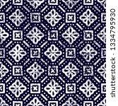 seamless geometric pattern.... | Shutterstock .eps vector #1334795930