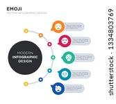 modern business infographic... | Shutterstock .eps vector #1334803769