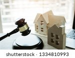online auction for real estate... | Shutterstock . vector #1334810993
