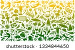 Vector Illustration Green...
