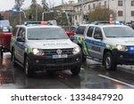 european street  prague october ... | Shutterstock . vector #1334847920