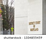 new district of maryland court... | Shutterstock . vector #1334855459
