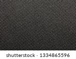 black nylon or synthetic... | Shutterstock . vector #1334865596