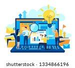 vector illustration  the... | Shutterstock .eps vector #1334866196