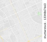 downtown vector map of riyadh ... | Shutterstock .eps vector #1334867663