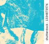 beige turquoise grunge... | Shutterstock .eps vector #1334873576