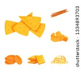 vector illustration of food and ...   Shutterstock .eps vector #1334893703