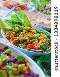 Assortment Of Fresh Vegetable...