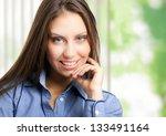 beautiful businesswoman portrait | Shutterstock . vector #133491164