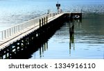 tirimoana boat jetty  south... | Shutterstock . vector #1334916110
