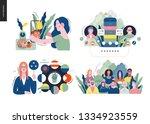 technology 1 set   modern flat...   Shutterstock .eps vector #1334923559