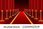 red carpet ceremonial vip event ... | Shutterstock .eps vector #1334942519